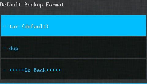 CWM Backup Format