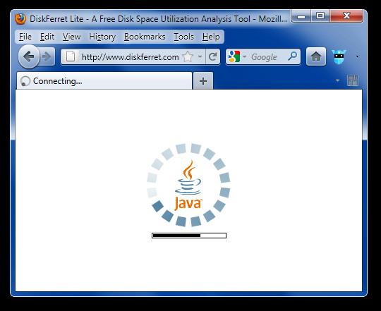 DiskFerret Lite - A Free Disk Space Utilization Analysis Tool - Mozilla Firefox