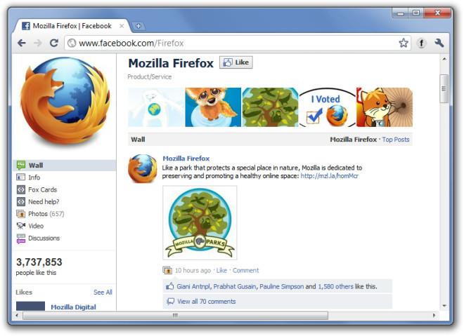 Mozilla Firefox  Facebook - Google Chrome
