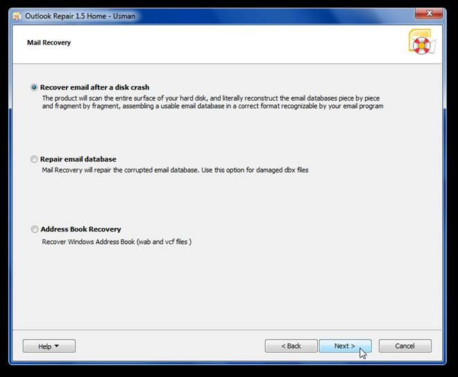 Outlook Repair 1.5 Home - Usman