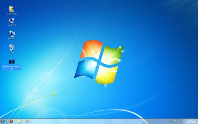 Step 7 Windows 7 Like Ubuntu