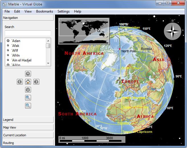 Marble - Virtual Globe