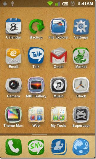 Paper-Theme-Icons