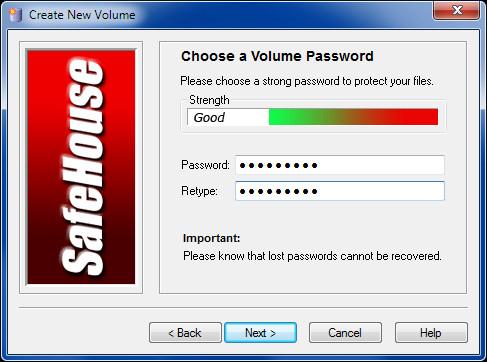 Select Password