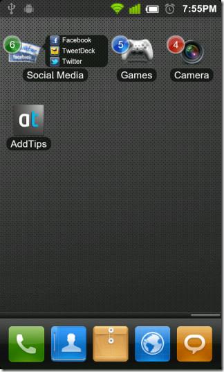 Application-Folder-For-Andrdoid