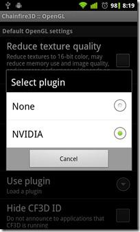 Default-OpenGL-settings---Use-plugin