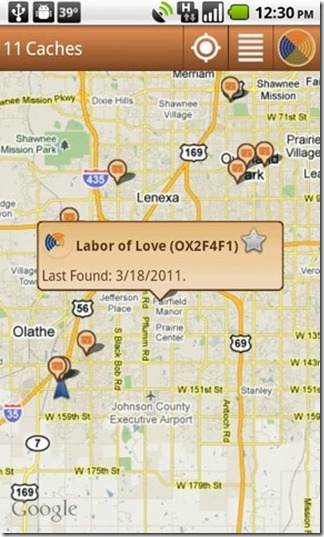 Find Caches