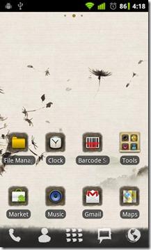 Ink-Theme-Homescreen