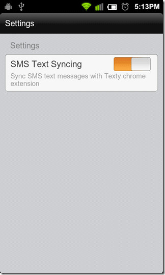 SMS-Syncing