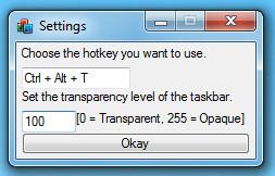 Set Transparency