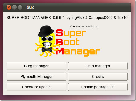 Super Boot Manager