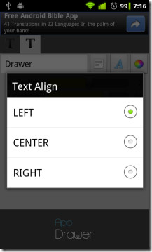 Text-Alignment