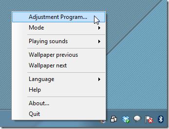 adjust program