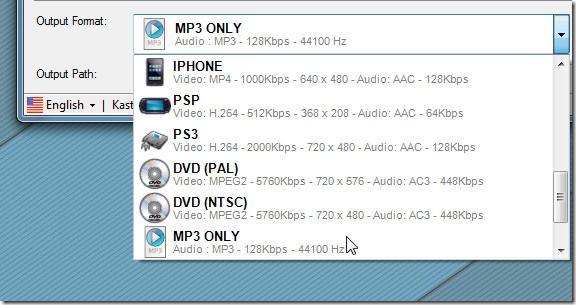 audio extract