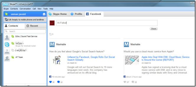 facebook skype 2