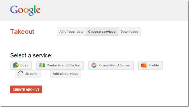 Choose Services