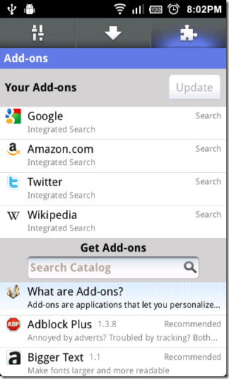 Firefox-mobile-Add-ons