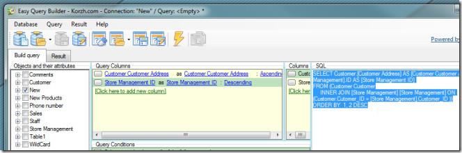 easy query builder 3