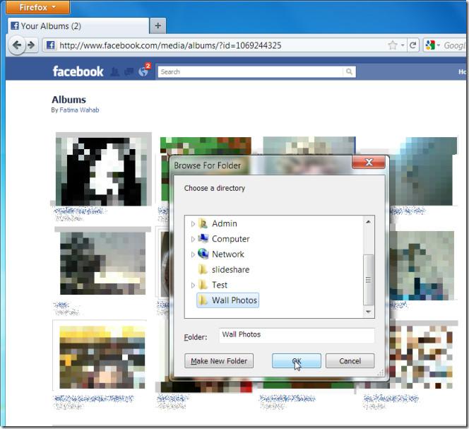 facebook album save