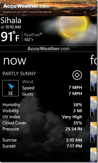 AccuWeather Home