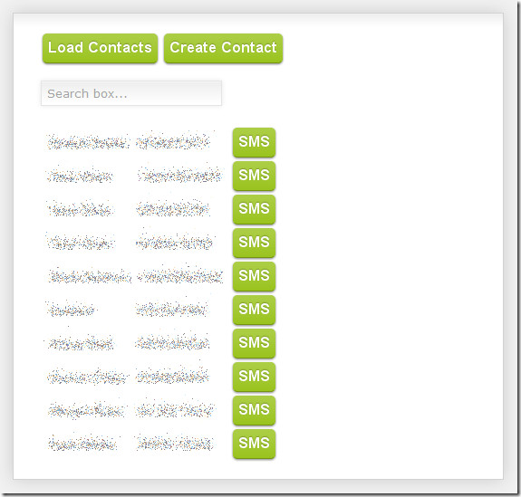 Android Push Contacts