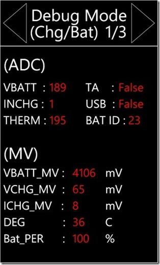 Battery Percentage Mode