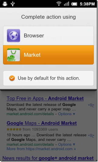 Complete-action-using-Market-app
