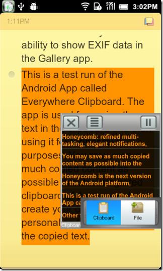 Everywhere Clipboard Lite (Clipboard Window)