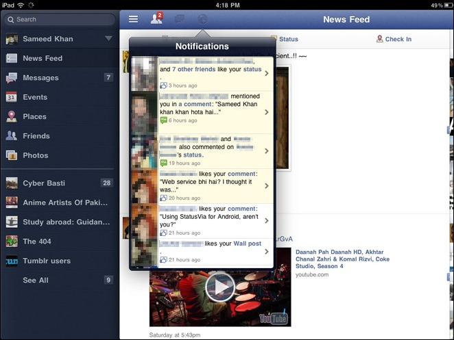 Facebook-For-iPad-side-bar
