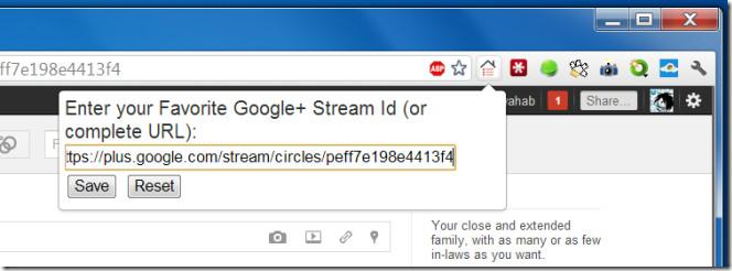 Favorite Google  Stream