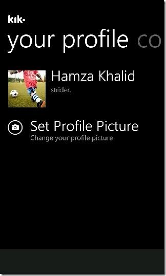 Kik Profile
