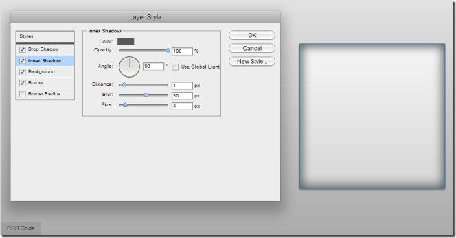 Layer Styles interface