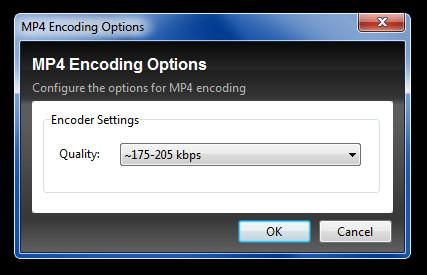 MP4 Encoding Options