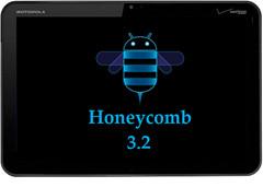 Motorola Xoom Honeycomb 3.2