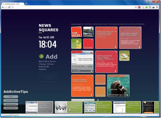 NewsSquares