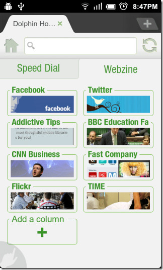 Webzine-Page