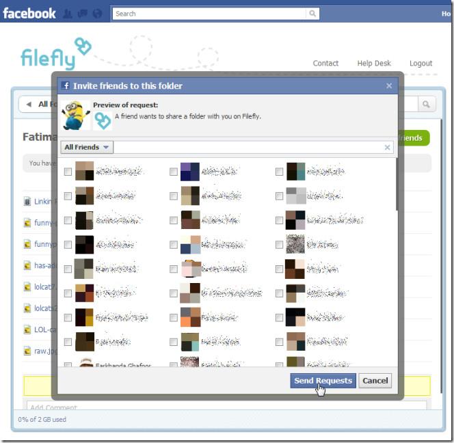 filefly share files