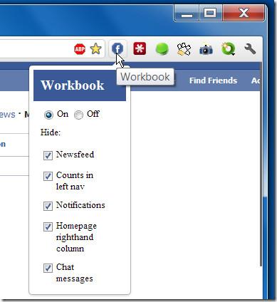 workbook for facebook