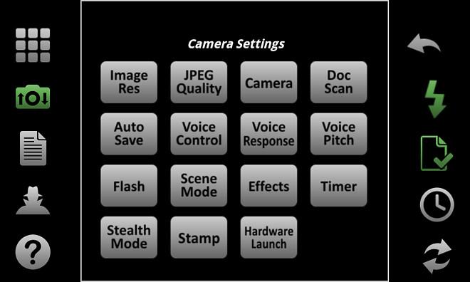 Camera-Settings