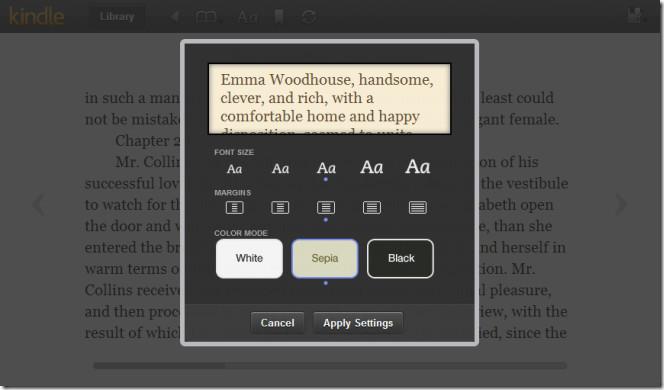 Cloud Reader customize