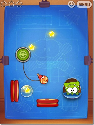 Cut-the-Rope-Experiments-Om-nom-Handstand-rope-shooter-trampoline