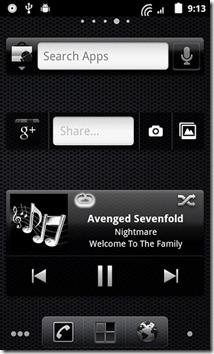 DarkGinger-Search-Google -&-Music-Widgets