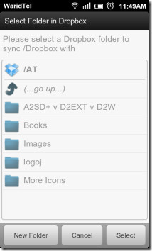 Dropbox-Folder-To-Sync