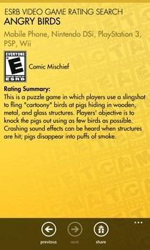 ESRB Game Description
