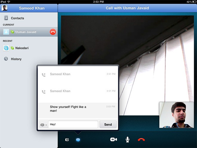 Skype-Video-Call- -Chat
