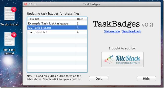 TaskBadge