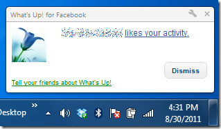 What's Up! Facebook
