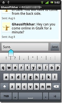 Xperia-Arc-Messaging-and-Keyboard