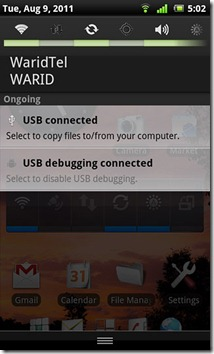 Xperia-Arc-Notification-Drawer