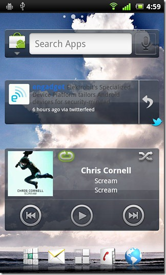 Xperia-Arc-Search-Twitter-&-Music-Widgets